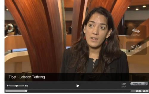 Lhadon Tethong sur ARTE