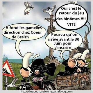 14 ème Jeu des Binômes