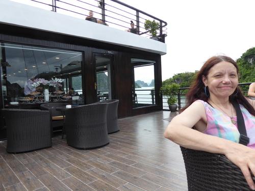 J5 , visite et continuation de la journée, Baie de Lan Ha Vietnam