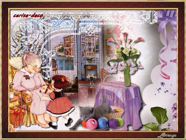 gifs fête des grand-mères pour le défi de lilimaya