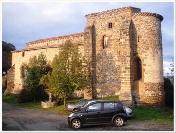 Saint Ilpize une commune d'Auvergne.