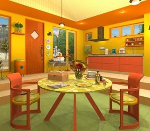 Jouer à Fruit kitchens 24 - Papaya yellow