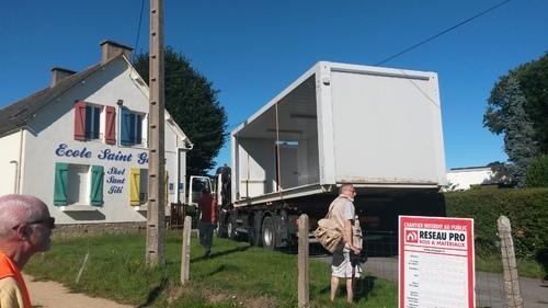 AOÛT 2017 - Installation du modulaire