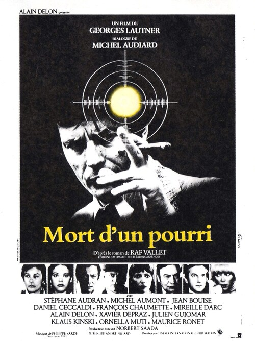 MORT D'UN POURRI - BOX OFFICE ALAIN DELON 1977