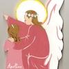 Ange gardien à genoux