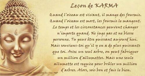 Lois du Karma