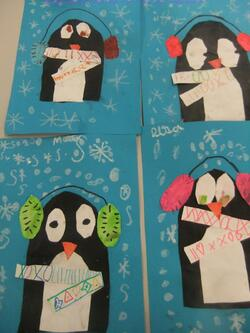 Les animaux du pôle (ours, pingouin, phoque ...)