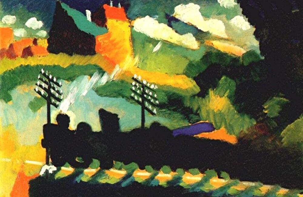 Kandinsky 6 /  1909-la recherche de la charge émotionnelle ( 2)