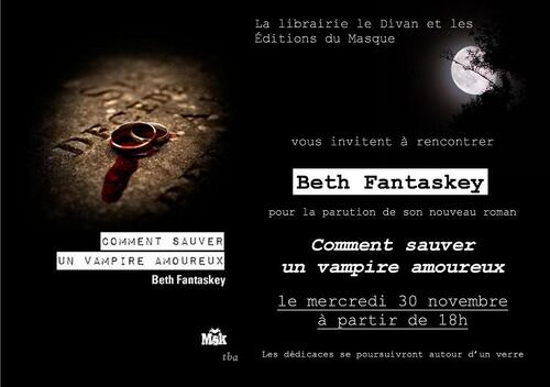 Dédicaces de Beth Fantaskey