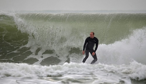 La vagues de Tarnos