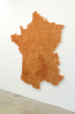 Claire Fontaine, France (burnt/unburnt), 2011