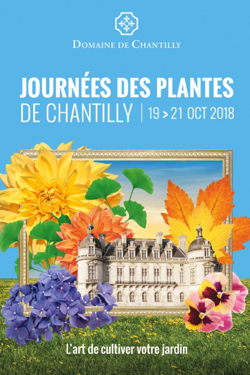 Gagnez vos entrées pour l'édition d'automne 2018 des Journées des Plantes de Chantilly...