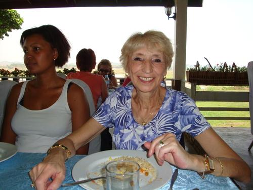 Jacqueline en Thaïlande 2012