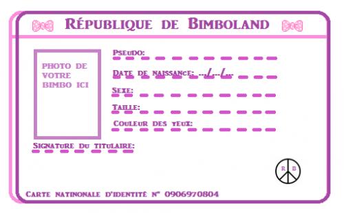 Les cartes d'identités
