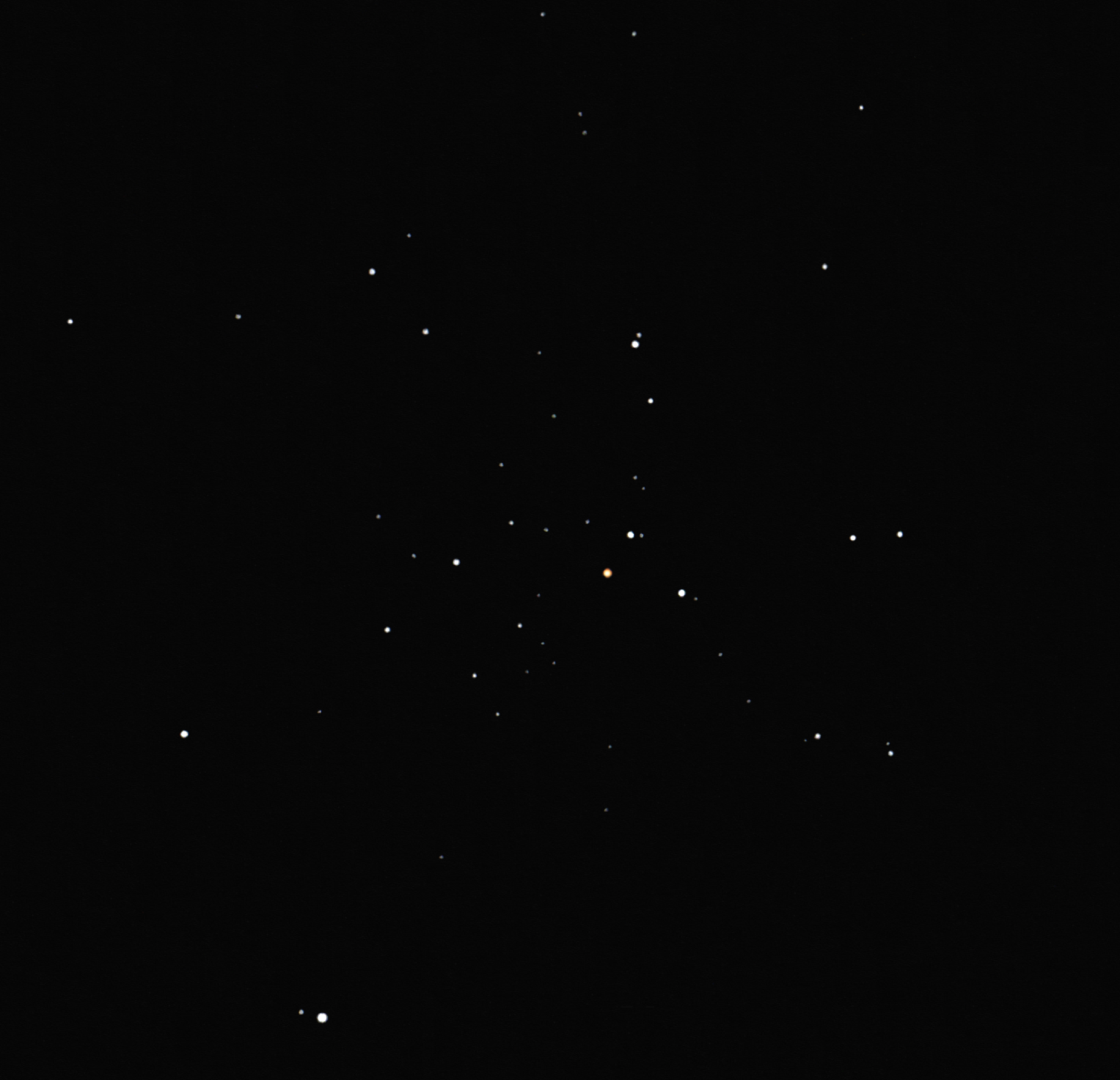 ngc 1545 open cluster