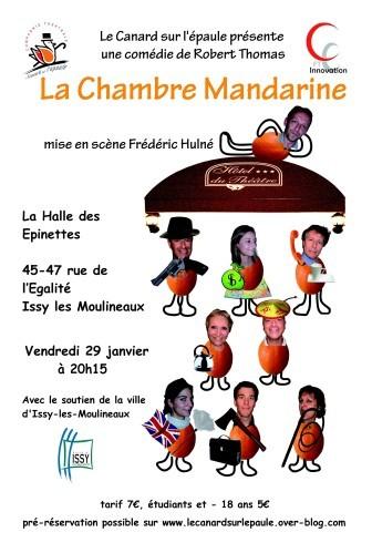 Mandarine Affiche Version MD A4 -300dpi Issy Violette