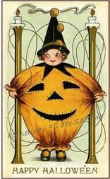 """Image et Transfert """"Halloween"""""""