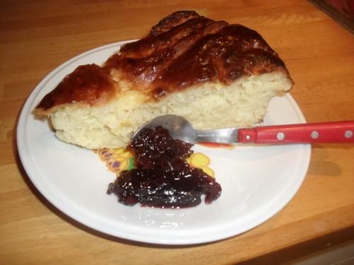 """un peu de viennoiserie : un gâteau """"chinois"""" à la crème patissière"""