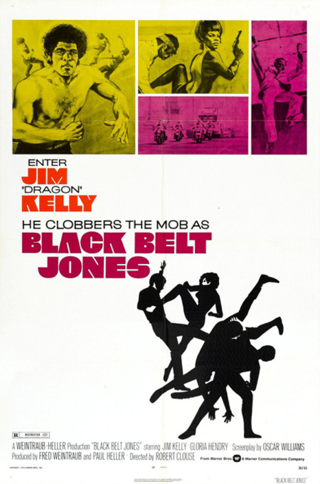 BLACK BELT JONES BOX OFFICE USA 1974