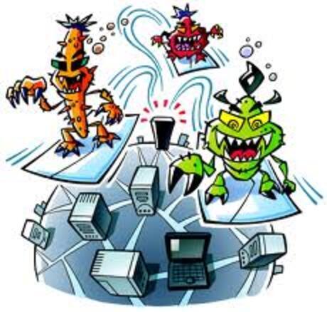 Attention virus !