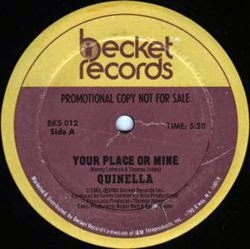 Quinella - Your Place Or Mine
