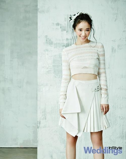 Jun Hye Jin pour Instyle