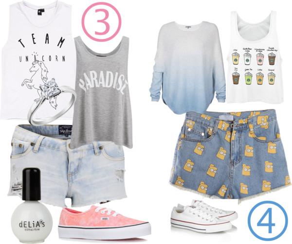 [Mode]Mes 4 inspirations de tenues/été 2014