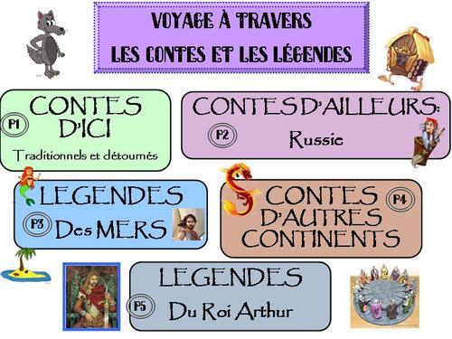 MAJ: programmation littérature Contes et Légendes