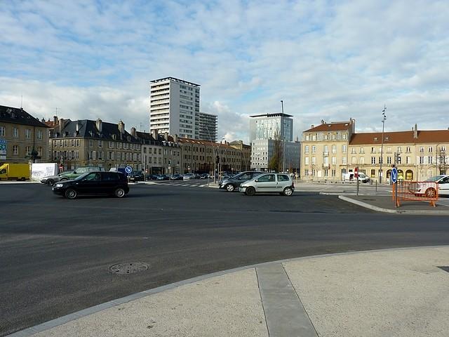 La nouvelle place Mazelle 1 Marc de Metz 01 12 2012