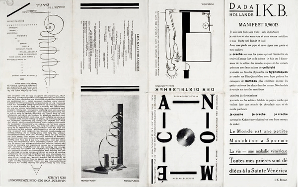 Mecano Dada,Hollande IKB, Manifeste 0, 96013 van Doesburg