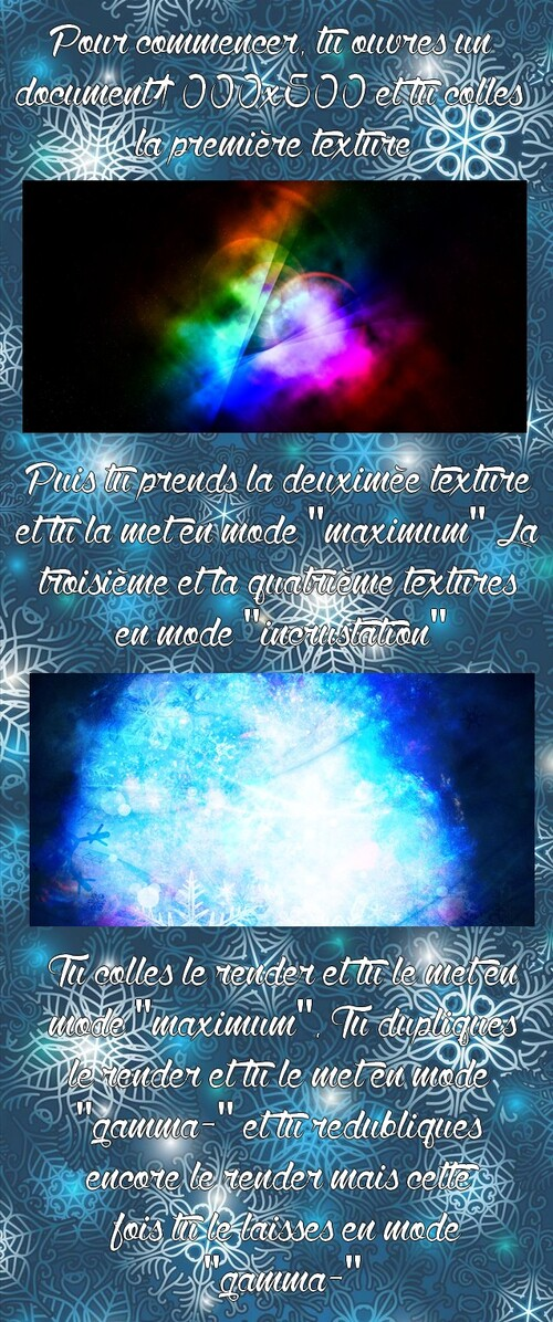 Header Reine des Neiges (que j'adore !)