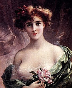 Emile Vernon, The Pink Rose