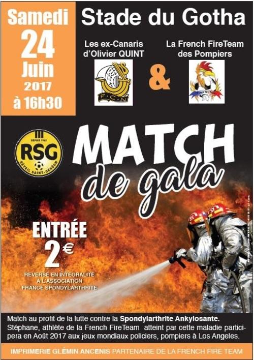 Rappel : Match de Gala pour l'A.F.S