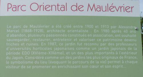 Maulévrier,le parc oriental (1)