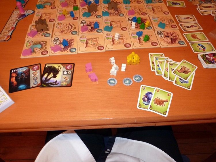 Five Tribes (mes gains)