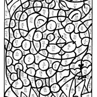 Coloriage Magique Encadrer Des Fractions.Fractions Superieures A 1 Coloriages Magiques Laprof2maths