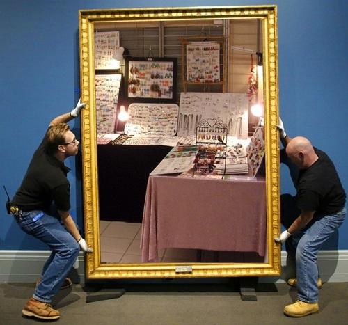 Exposition au salon d'artisanat d'art de LARCAY