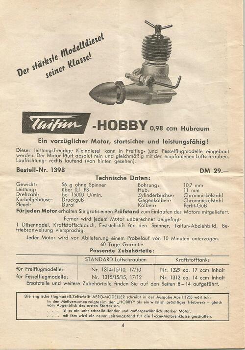 Catalogue Taifün