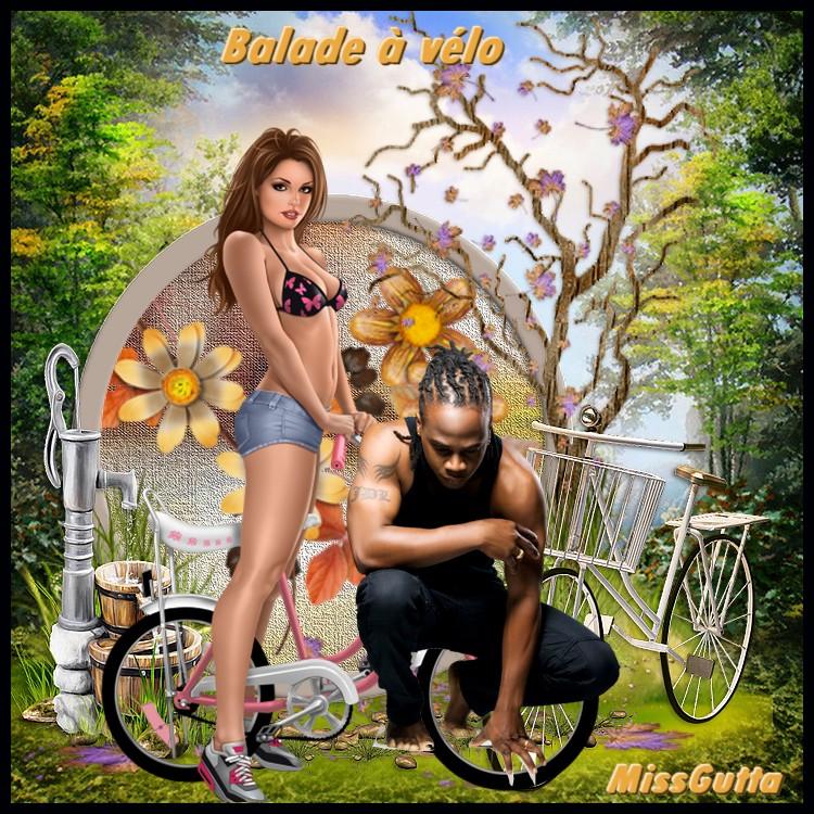 Pour amie Kikoonette ( Balade à vélo )