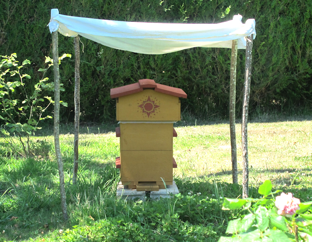 Protection de la ruche Canicule 2015
