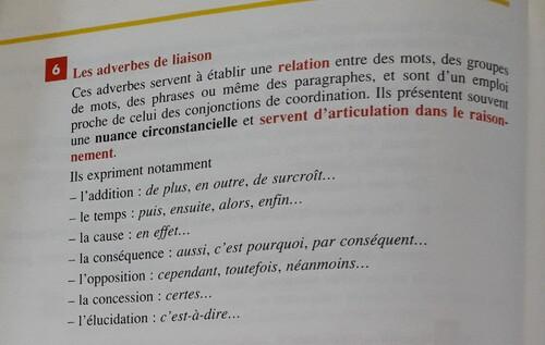 """B / Les """"mots-crochets"""" ou mots de liaison"""