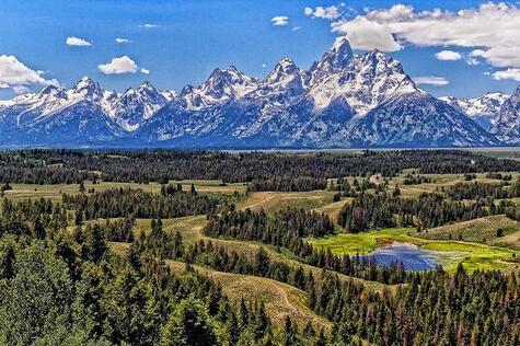 plus belles montagnes grand teton