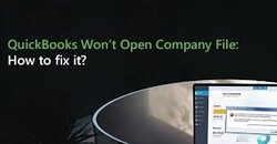 Resolve Problems Opening QuickBooks Desktop Or Your Company File