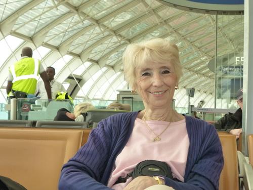 Jacqueline à Vienne Budapest et Pragues
