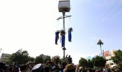Trois pédophiles ont été exécutés publiquement et pendus