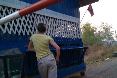 Le passage de frontière du Cambodge au Laos