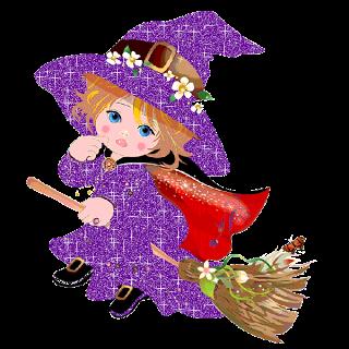 Tubes fées halloween