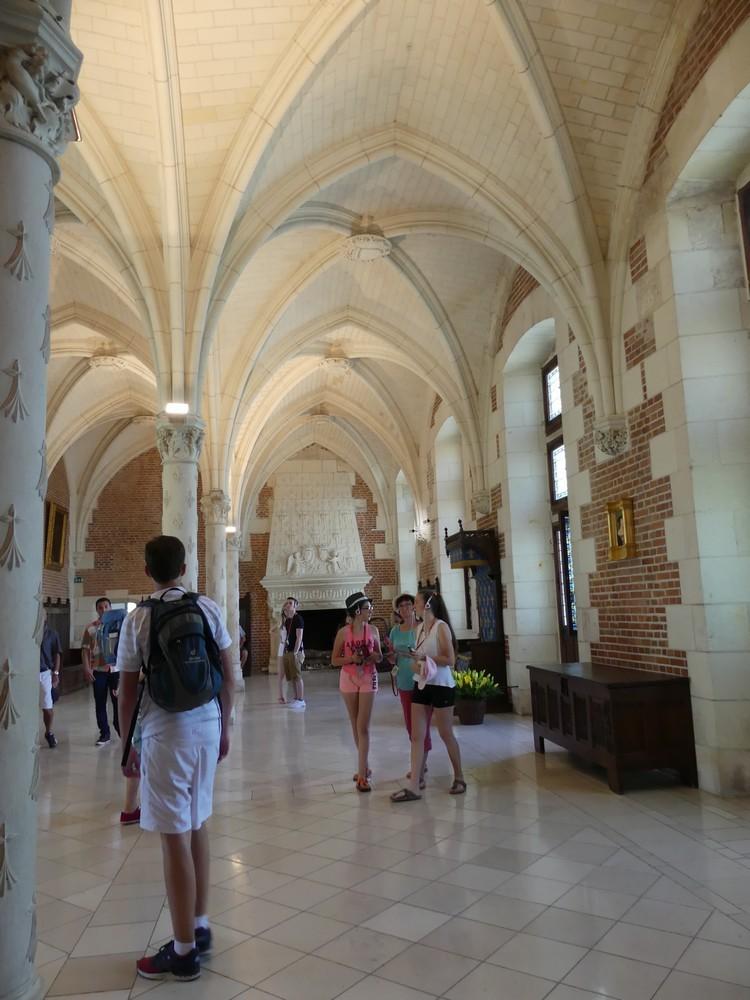 Le Château Royal d'Amboise : logis gothique...