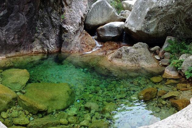 Piscines naturelles du Massif de Bavella