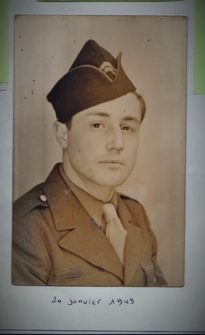 * Marcel JASSAUD, Brigadier du 1er RA, 1ère Division française Libre